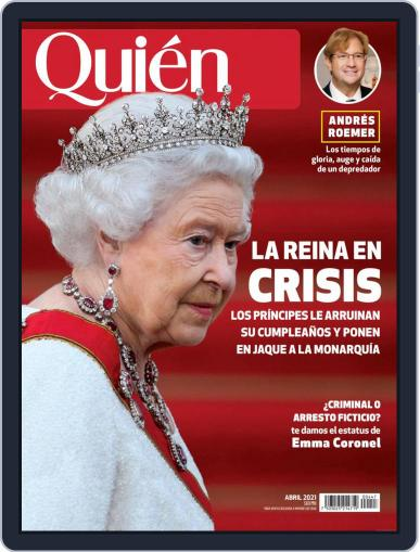 Quién (Digital) April 1st, 2021 Issue Cover