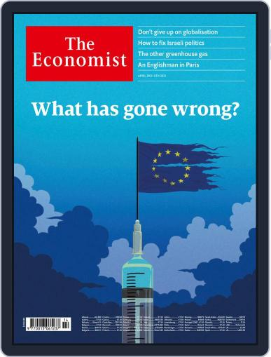 The Economist Continental Europe Edition April 3rd, 2021 Digital Back Issue Cover