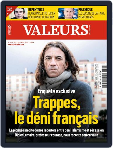 Valeurs Actuelles (Digital) April 7th, 2021 Issue Cover