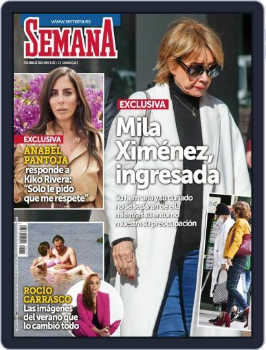 Semana (Digital) April 7th, 2021 Issue Cover