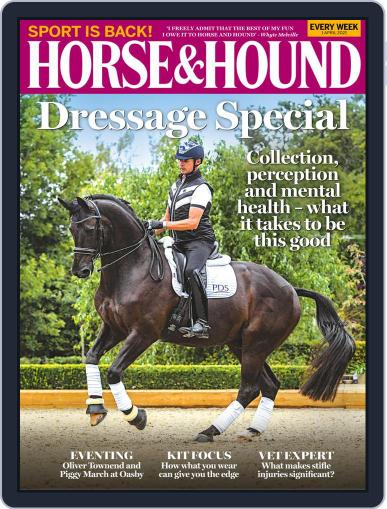 Horse & Hound (Digital) April 1st, 2021 Issue Cover