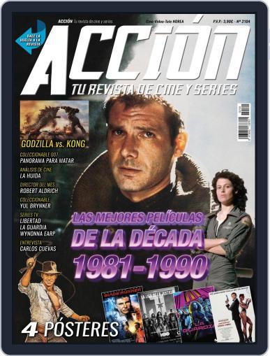 Accion Cine-video (Digital) April 1st, 2021 Issue Cover