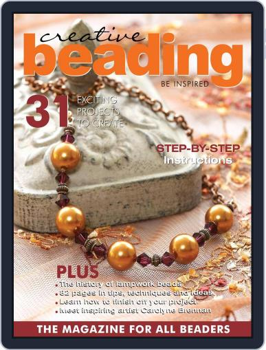 Creative Beading (Digital) April 1st, 2021 Issue Cover