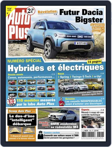 Auto Plus France (Digital) April 2nd, 2021 Issue Cover