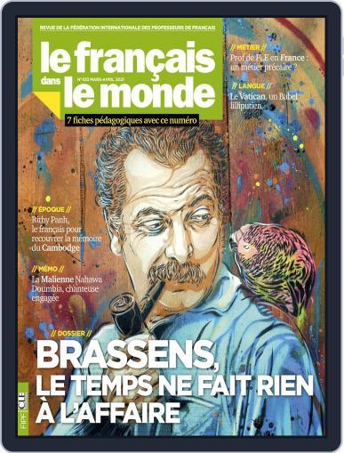Le Français Dans Le Monde March 1st, 2021 Digital Back Issue Cover