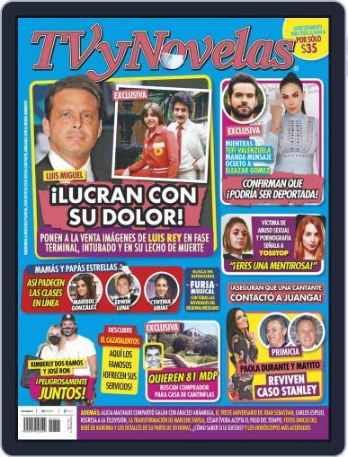 TV y Novelas México (Digital) April 5th, 2021 Issue Cover