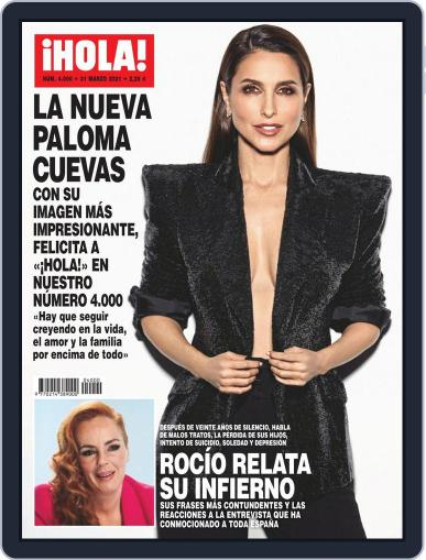 Hola (Digital) March 31st, 2021 Issue Cover