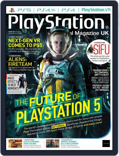 Official PlayStation Magazine - UK Edition (Digital) May 1st, 2021 Issue Cover