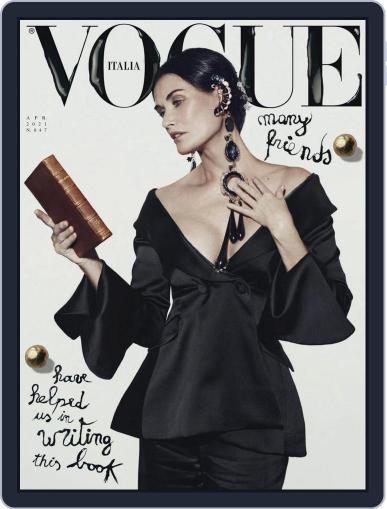 Vogue Italia (Digital) April 1st, 2021 Issue Cover