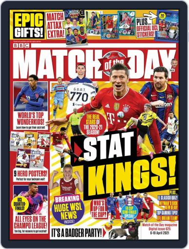 Match Of The Day (Digital) April 6th, 2021 Issue Cover