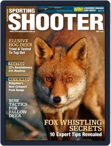 Sporting Shooter May 1st, 2021 Digital Back Issue Cover