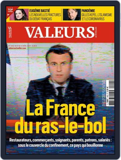 Valeurs Actuelles (Digital) April 8th, 2021 Issue Cover