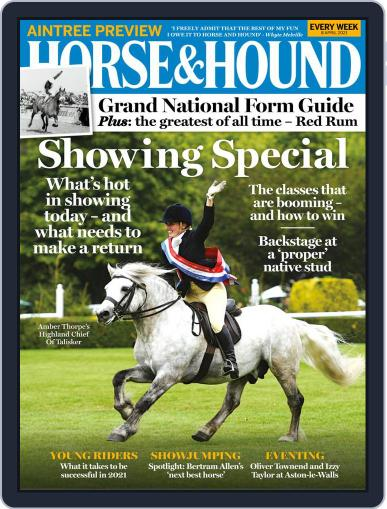 Horse & Hound (Digital) April 8th, 2021 Issue Cover