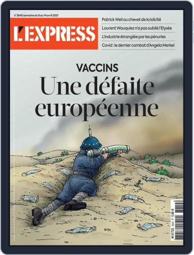 L'express (Digital) April 8th, 2021 Issue Cover
