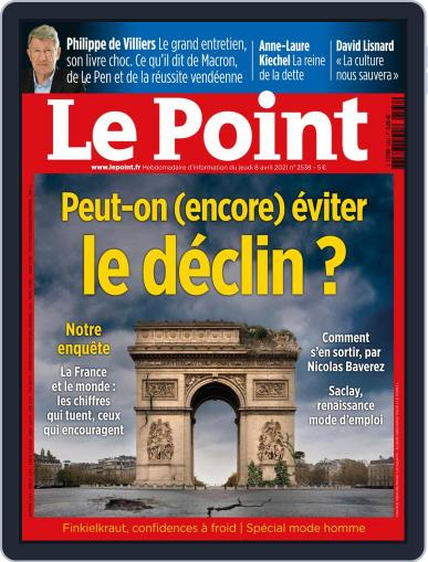 Le Point April 8th, 2021 Digital Back Issue Cover