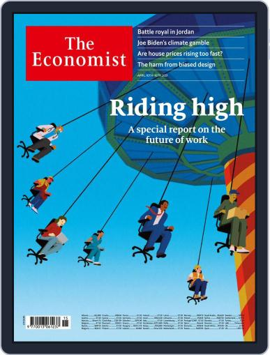 The Economist Continental Europe Edition April 10th, 2021 Digital Back Issue Cover