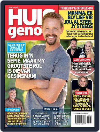 Huisgenoot (Digital) April 15th, 2021 Issue Cover