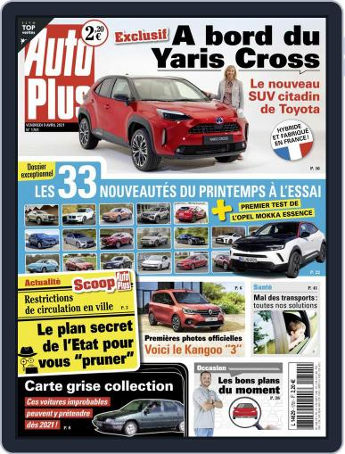 Auto Plus France (Digital) April 9th, 2021 Issue Cover