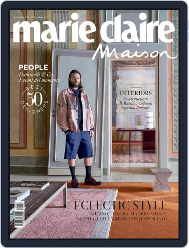 Marie Claire Maison Italia April 1st, 2021 Digital Back Issue Cover