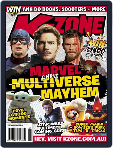 K-Zone (Digital) May 1st, 2021 Issue Cover