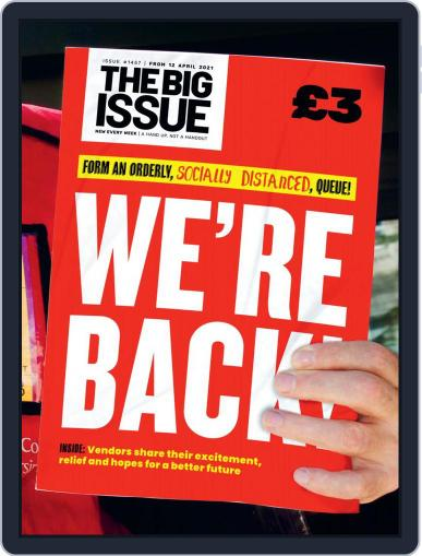 The Big Issue April 12th, 2021 Digital Back Issue Cover