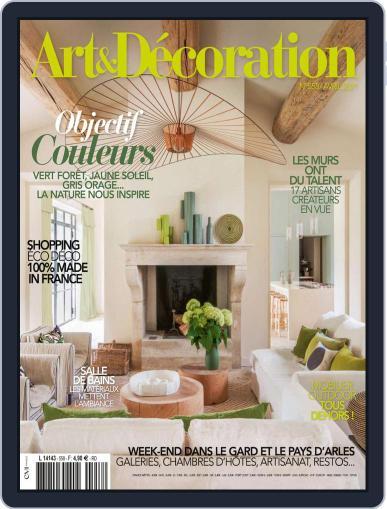 Art & Décoration April 1st, 2021 Digital Back Issue Cover