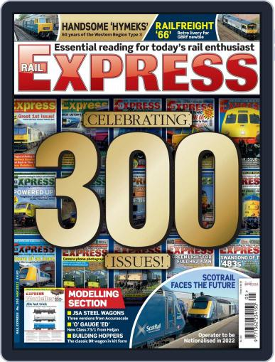 Rail Express (Digital) May 1st, 2021 Issue Cover