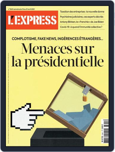 L'express (Digital) April 15th, 2021 Issue Cover