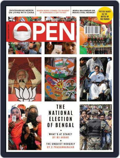 Open India April 16th, 2021 Digital Back Issue Cover