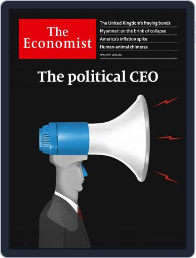 The Economist Latin America April 17th, 2021 Digital Back Issue Cover