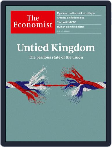 The Economist Continental Europe Edition April 17th, 2021 Digital Back Issue Cover