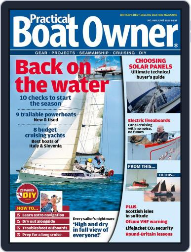 Practical Boat Owner (Digital) June 1st, 2021 Issue Cover