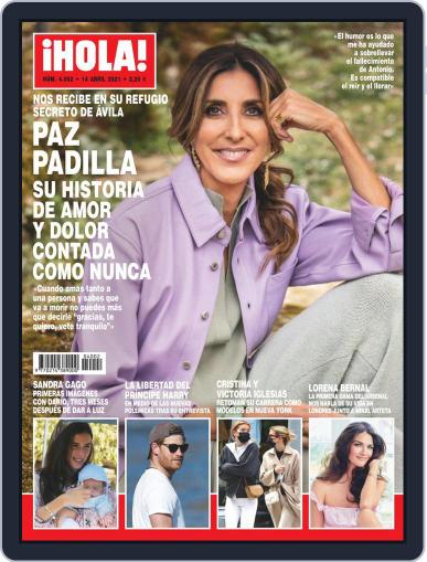Hola (Digital) April 14th, 2021 Issue Cover