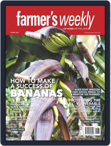 Farmer's Weekly April 23rd, 2021 Digital Back Issue Cover