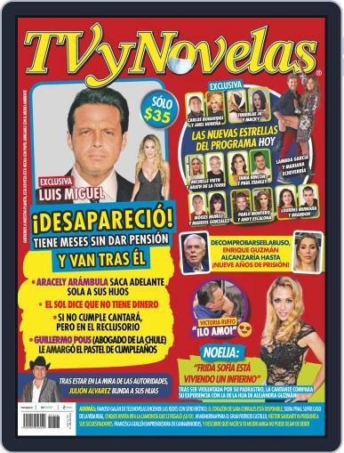 TV y Novelas México (Digital) April 19th, 2021 Issue Cover