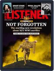 New Zealand Listener (Digital) Subscription April 24th, 2021 Issue