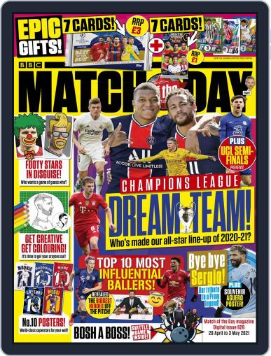 Match Of The Day (Digital) April 20th, 2021 Issue Cover
