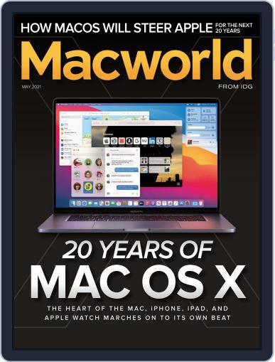 Macworld May 1st, 2021 Digital Back Issue Cover