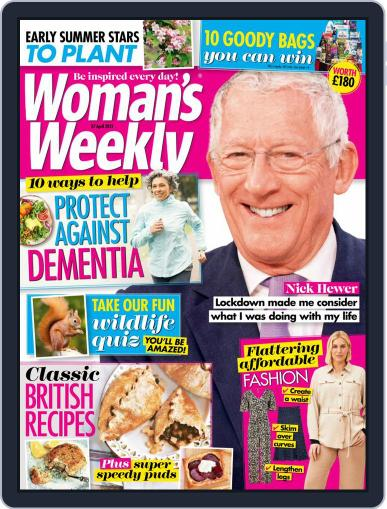 Woman's Weekly April 27th, 2021 Digital Back Issue Cover