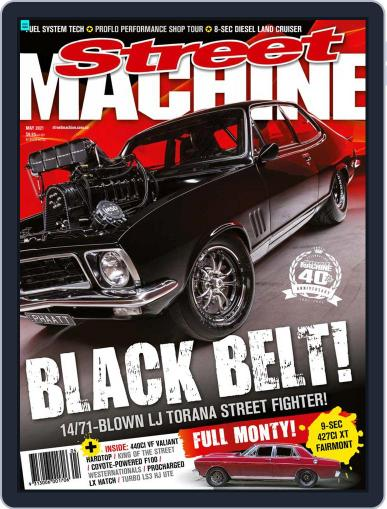 Street Machine May 1st, 2021 Digital Back Issue Cover