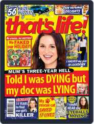 that's life! (Digital) Subscription April 29th, 2021 Issue