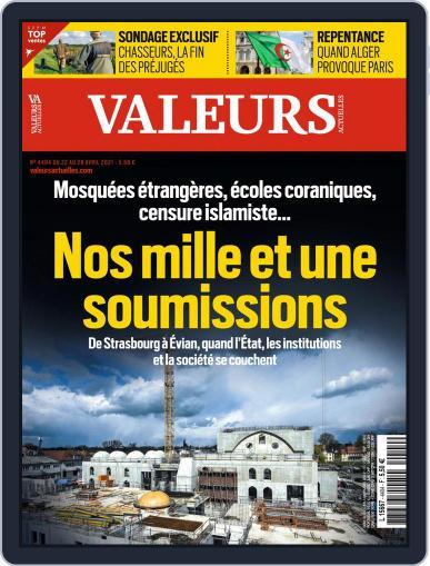 Valeurs Actuelles (Digital) April 22nd, 2021 Issue Cover