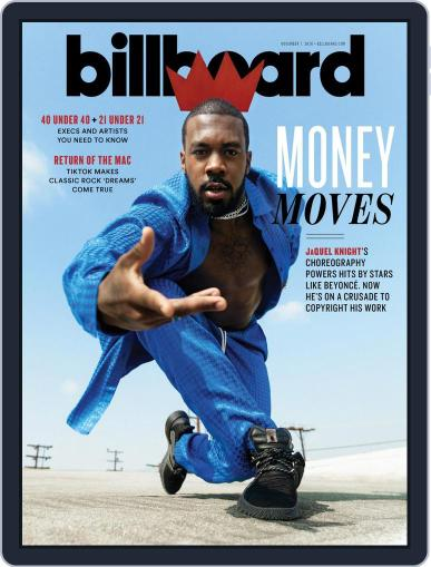 Billboard Digital Magazine November 7th, 2020 Issue Cover