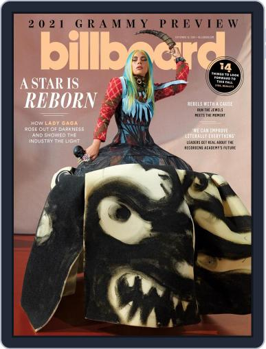 Billboard Digital Magazine September 19th, 2020 Issue Cover