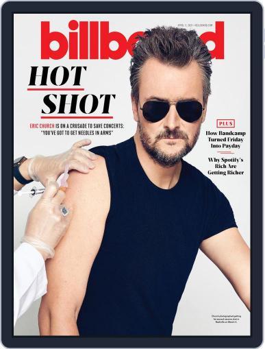 Billboard Digital Magazine April 3rd, 2021 Issue Cover