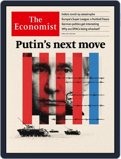 The Economist Continental Europe Edition April 24th, 2021 Digital Back Issue Cover