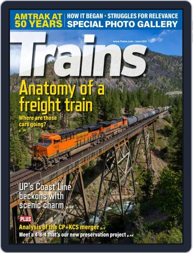 Trains (Digital) June 1st, 2021 Issue Cover