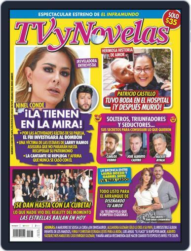 TV y Novelas México (Digital) April 26th, 2021 Issue Cover