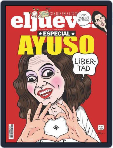 El Jueves (Digital) April 27th, 2021 Issue Cover