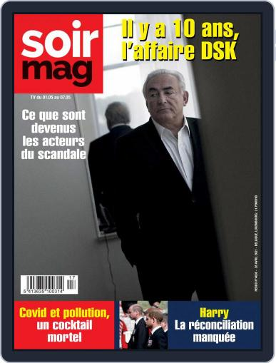 Soir mag (Digital) April 28th, 2021 Issue Cover